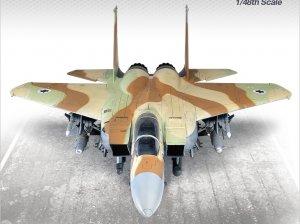 F-15I Ra'Am Israel Air Force   (Vista 2)