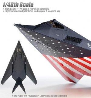 F-117A Night Hawk   (Vista 2)