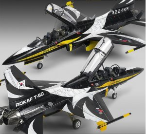 Rokaf T-50B Black Eagles  (Vista 3)