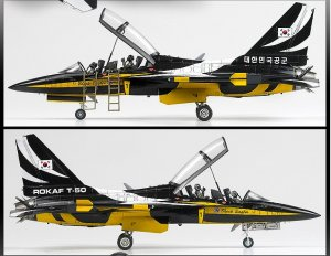 Rokaf T-50B Black Eagles  (Vista 4)