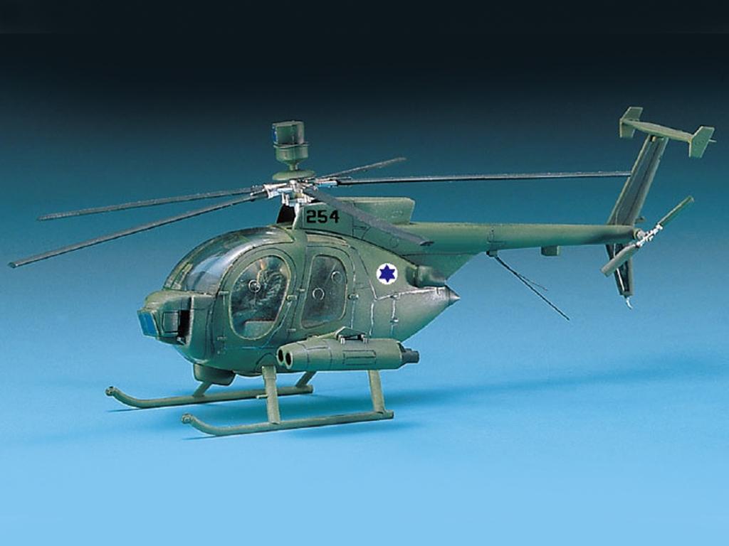 Hughes 500D TOW Helicopter  (Vista 2)