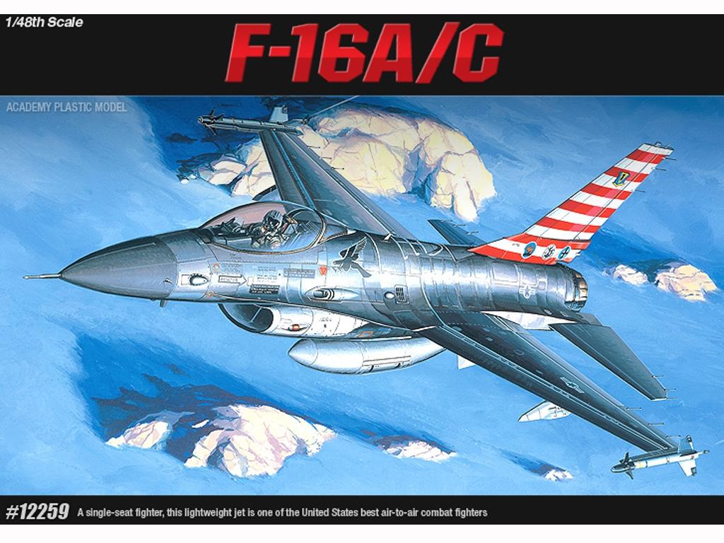 F-16A/C Fighting Falcon  (Vista 1)