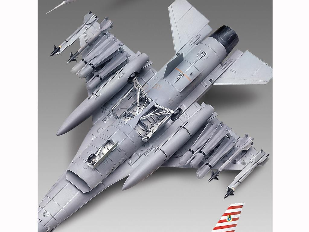 F-16A/C Fighting Falcon  (Vista 4)