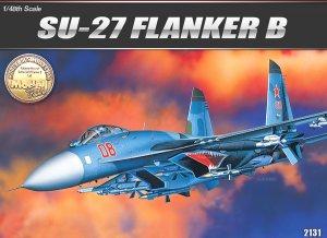 SU-27 Flanker B  (Vista 1)