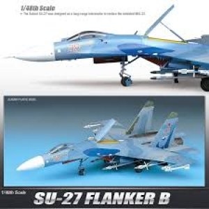 SU-27 Flanker B  (Vista 2)
