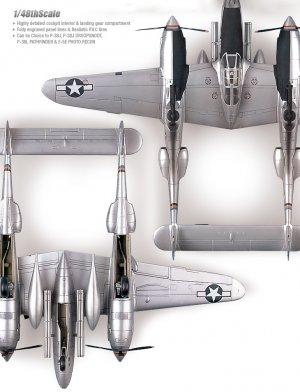 P-38 J/L/Droop Snoot/F5E  (Vista 3)
