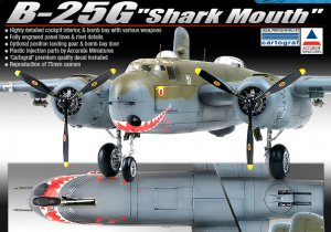 B-25G  Shark Mouth