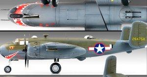 B-25G  Shark Mouth  (Vista 3)