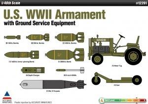 U.S. WWII Set de Armamento  (Vista 1)