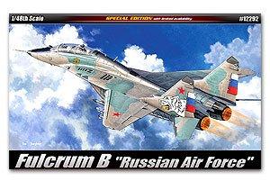 Fulcrum B Russian Air Force  (Vista 1)