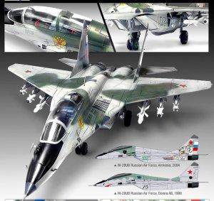 Fulcrum B Russian Air Force  (Vista 2)