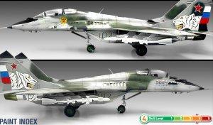 Fulcrum B Russian Air Force  (Vista 4)