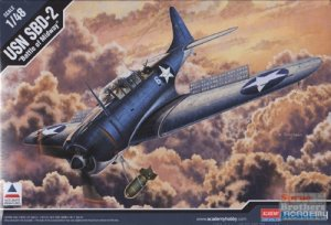 Douglas SBD-2 Dauntless  (Vista 1)