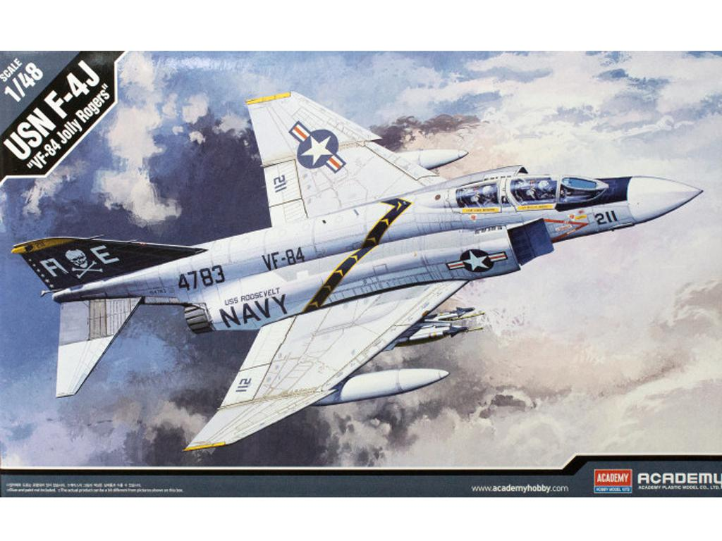 F-4J Phantom II VF-84 Jolly Roger