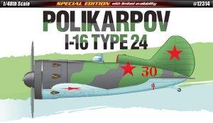 Polikarpov I-16 Type 24  (Vista 1)