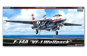 F-14A VF-1 Wolf pack  (Vista 1)