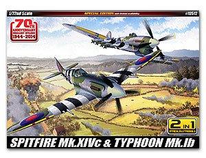 Spitfire & Hawker Typhoon–70th ann. of N  (Vista 1)