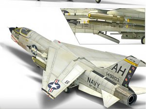 F-8E VF-162 The Hunters  (Vista 3)