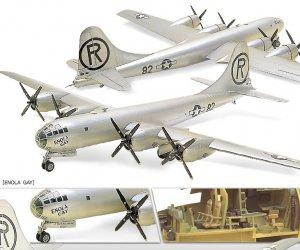 USAAF B-29A Enola Gay & Bockscar  (Vista 3)