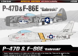 P-47D & F-86E Gabreski  (Vista 1)
