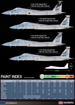 F-15 MSIP II California ANG 144th FW  (Vista 4)