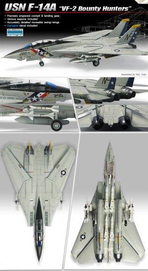 F-14A VF-2 Bounty Hunters  (Vista 2)