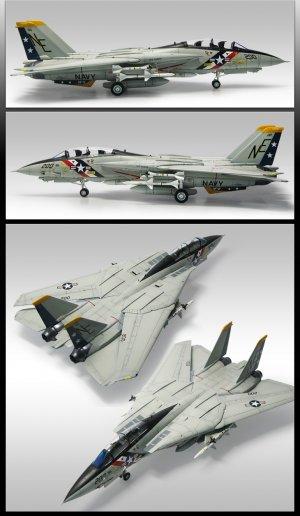 F-14A VF-2 Bounty Hunters  (Vista 3)