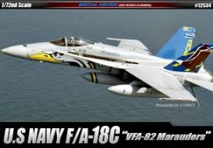 USN F/A-18C VFA-82 Marauders  (Vista 1)