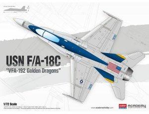 USN F/A-18C VFA-192 Golden Dragons  (Vista 1)