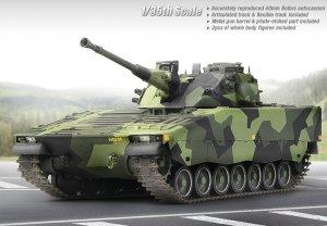 CV9040B Swedish Infantry Fighting Vehich  (Vista 2)