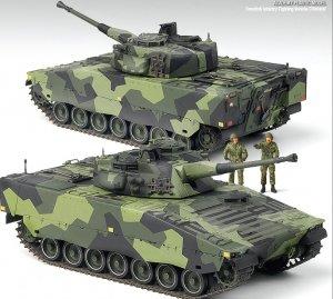 CV9040B Swedish Infantry Fighting Vehich  (Vista 3)
