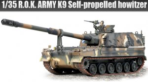 R.O.K.Army K9 Self-Propelled
