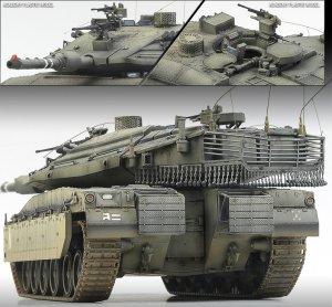 Merkava MK.Iv LIC   (Vista 2)