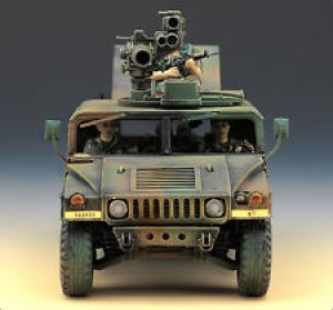M-966 Hummer With Tow