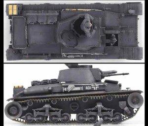 German Light Tank Pz.Kpfw. 35  (Vista 4)