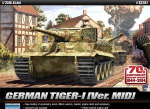 Tiger I Mid. Anniv.70 Normandy Invasion   (Vista 1)