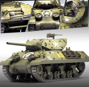 US ARMY M10 GMC  (Vista 3)