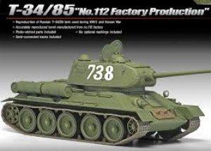 T-34/85  - 112 Factory Production  (Vista 2)