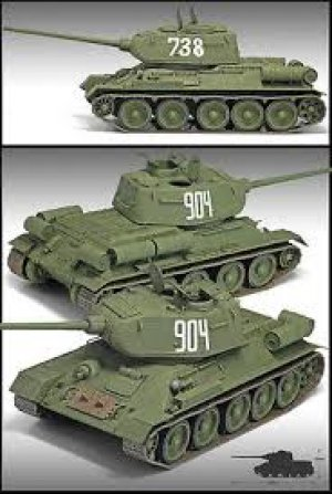 T-34/85  - 112 Factory Production