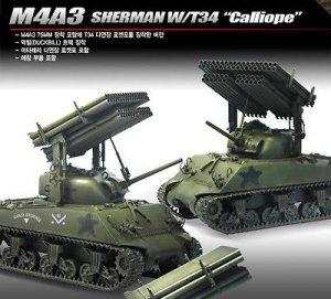 M4A3 Sherman w/T34 Calliope  (Vista 2)