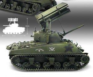 M4A3 Sherman w/T34 Calliope  (Vista 3)