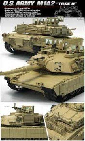 U.S. Army M1A2 TUSK II  (Vista 2)