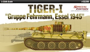 Tiger I Gruppe Fehrmann April 1945  (Vista 1)