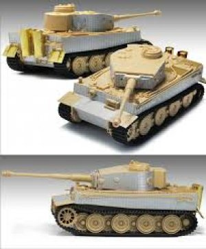 Tiger I Gruppe Fehrmann April 1945  (Vista 3)