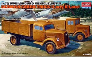 German Cargo Truck (Early & Late)  (Vista 1)