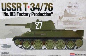 T-34/76 NO. 183 Factory  (Vista 1)