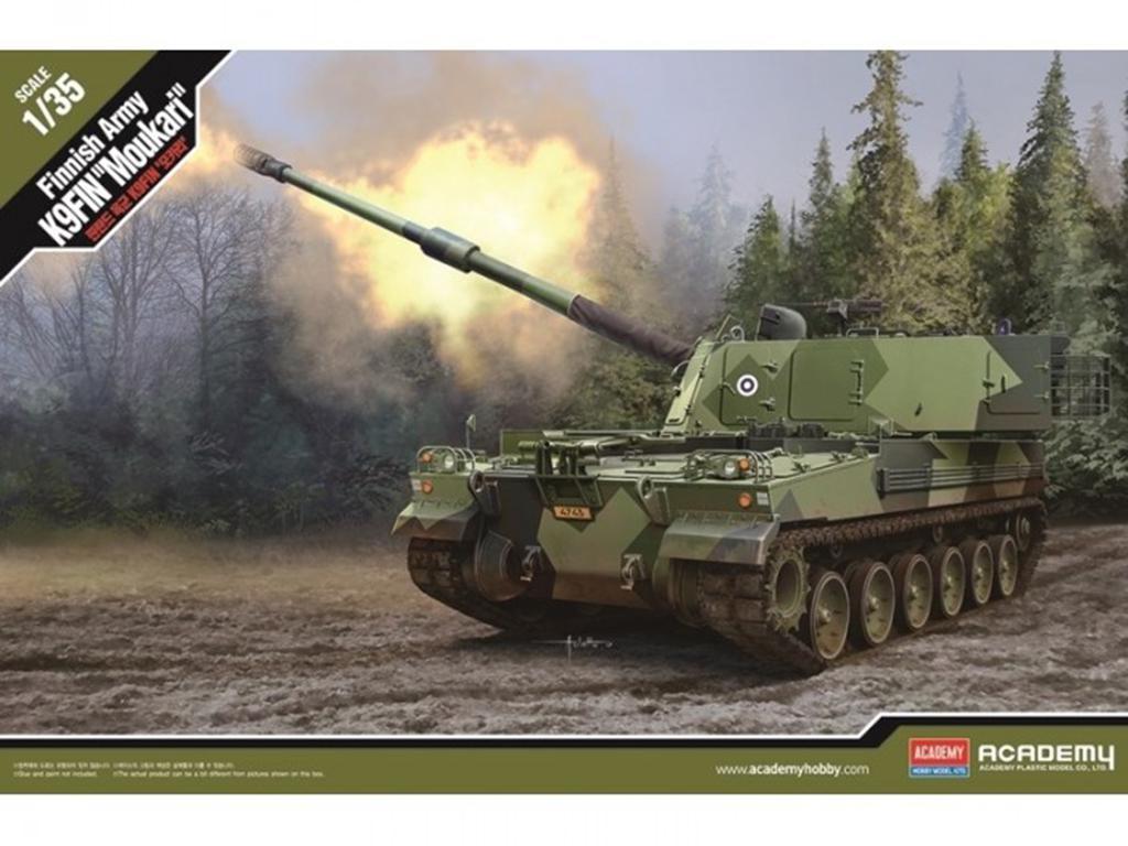 Finnish Army K9FIN Moukari  (Vista 1)