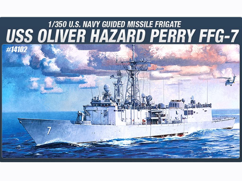 USS Oliver Hazard Perry FFG-7  (Vista 1)