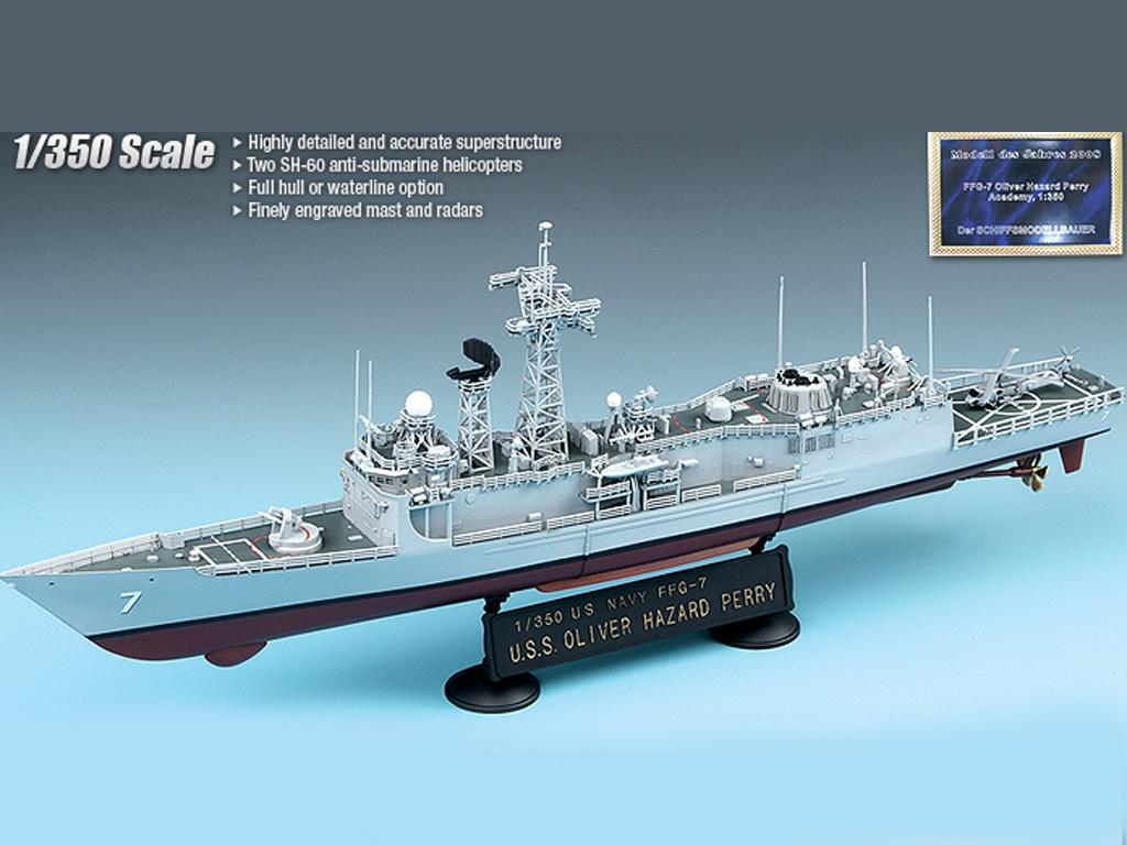 USS Oliver Hazard Perry FFG-7  (Vista 2)