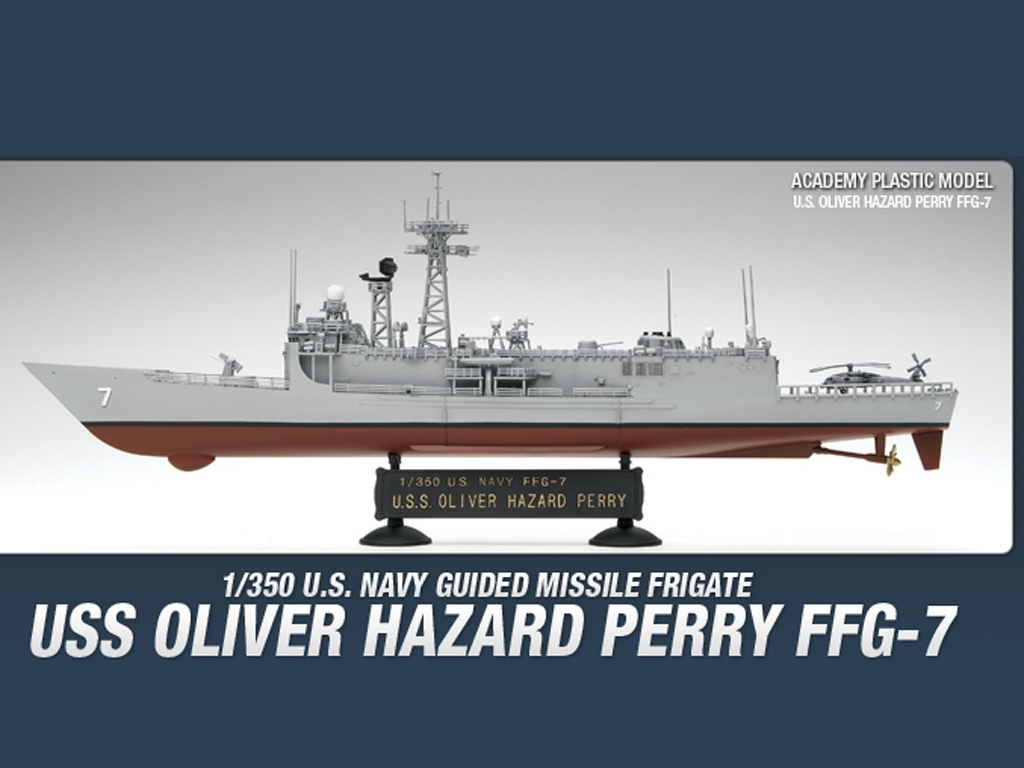 USS Oliver Hazard Perry FFG-7  (Vista 3)